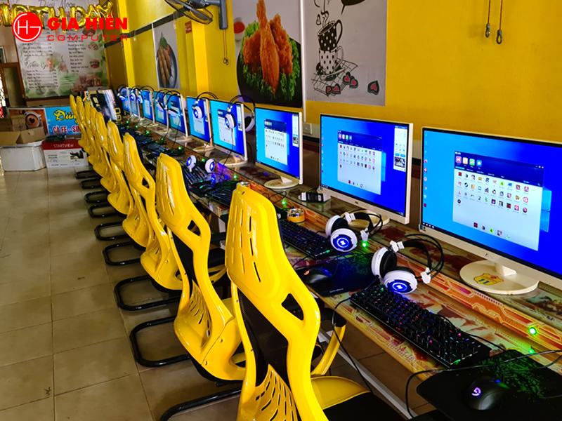 Phòng game sử dụng ghế G60 khuân đúc.